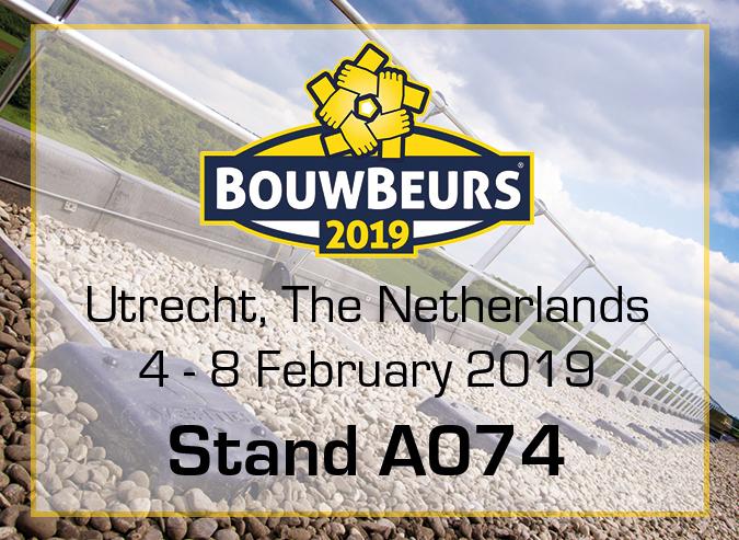 Meet us on the BouwBeurs in Utrecht!